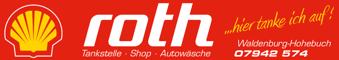 Shell Tankstelle Roth | 74638 Waldenburg-Hohebuch Logo